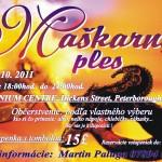 Maškarný ples v Peterborough