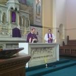 Stretnutie s otcom biskupom Haľkom v Londýne a Warringtone
