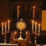 sviatosť oltárna poklona
